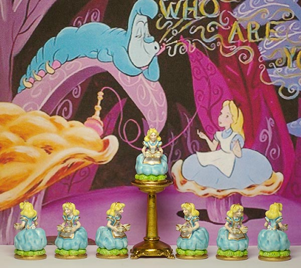 Alice in Wonderland - Zadar Miniature