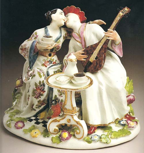 Meissen Indian Lovers Kandler
