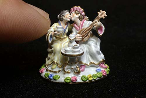 Messien Miniature Indian Lovers